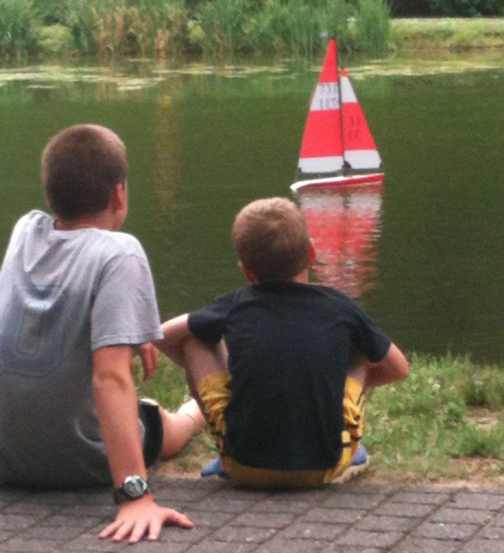 Boats on Pond